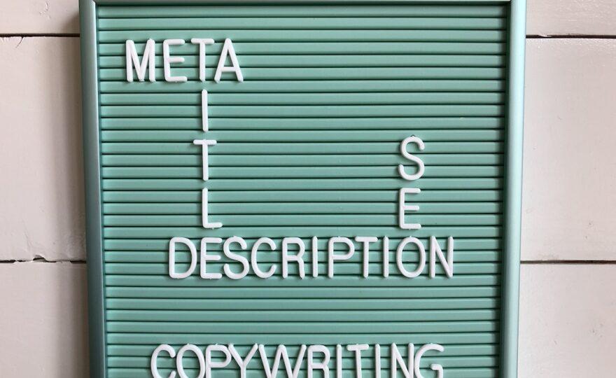 Meta title copywriting en tips voor optimalisatie