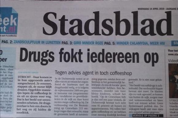 Drugs fokt iedereen op