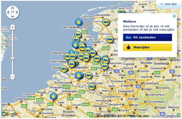 ANWB Samenrijden.nl