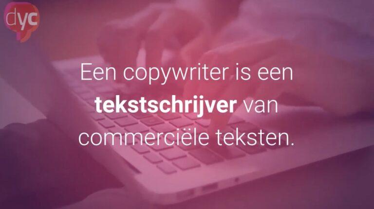Wat is een copywriter?