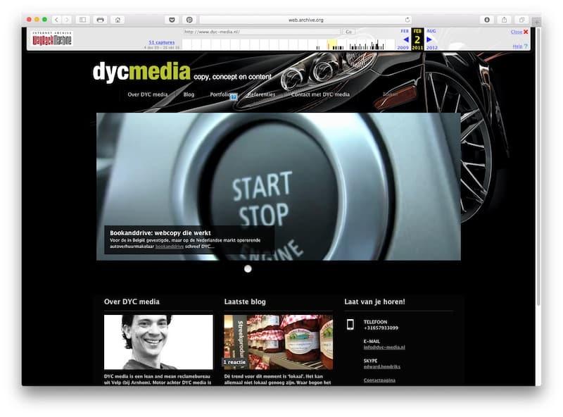 Dyc-media.nl op 2 februari 2011