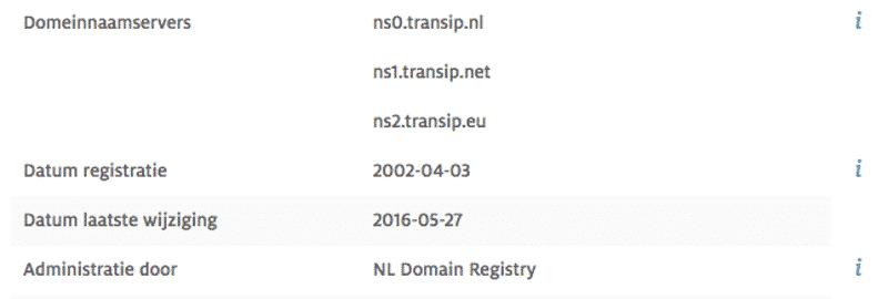 eerste registratie doyoucopy.nl domeinnaam