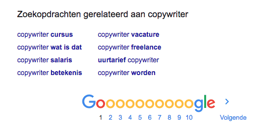 LSI-zoekwoorden SEO-copywriter