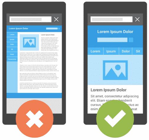 Een mobiele website: zo ziet Google het graag