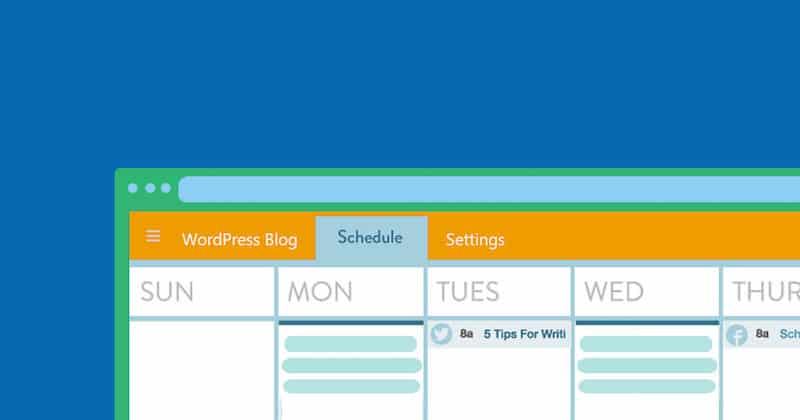 Een contentkalender om je blog bij te houden