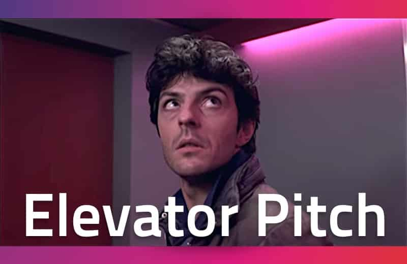 Wat is een elevator pitch?