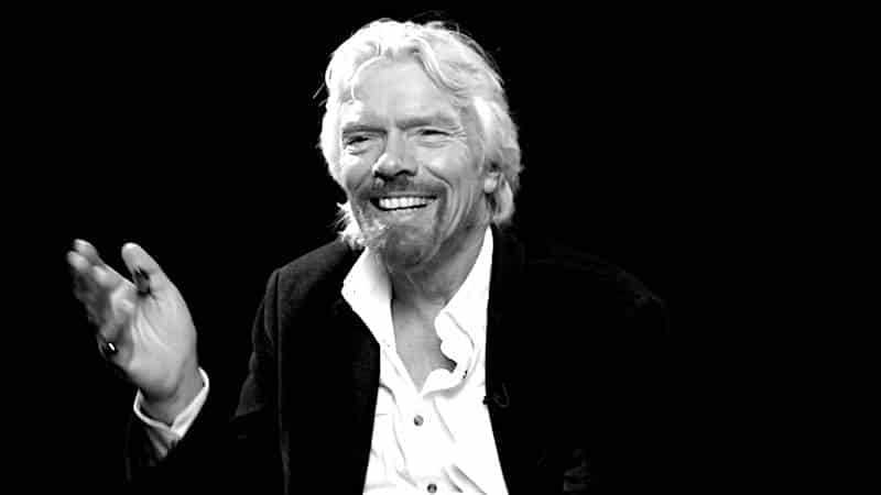 Richard Branson - 10 favoriete quotes over lef hebben