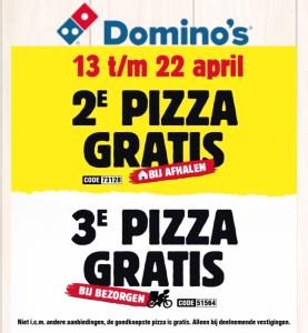 Gratis pizza!