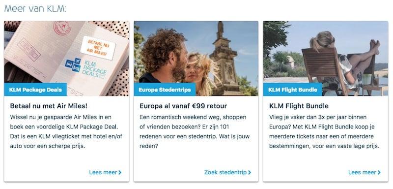 En nu tutoyeert KLM