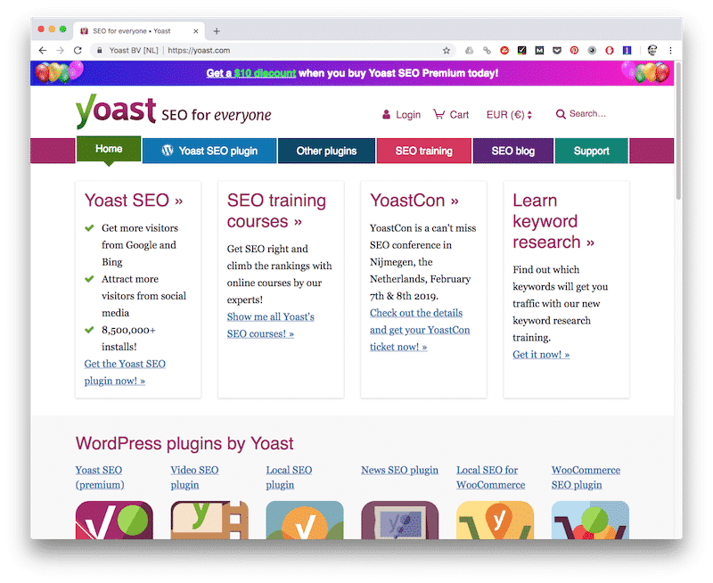 Yoast SEO - tools voor copywriters
