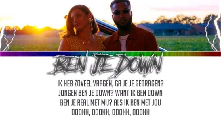 Ben je down?
