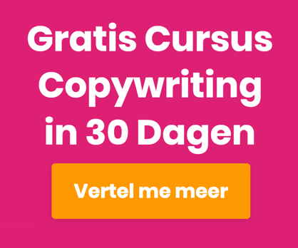 Gratis Cursus Copywriting in 30 Dagen